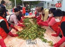 [상주]계림동 지역사회보장협의체, 사랑의 김치 전달